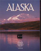 1993 Alaska Vacation Planner Cover