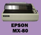 Epson MX-80 dot matrix printer
