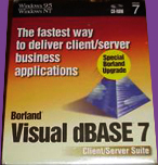 Borland Visual dBase 7 Software Package