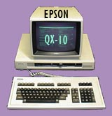 Epson QX-10 Computer System