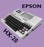 First Laptop - Epson HX-20